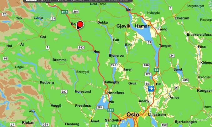 østlandet kart Fønhus   Eiernes utfordring østlandet kart
